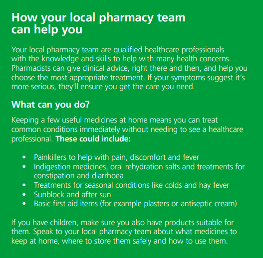 how your local pharmacy can help
