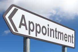 appointment sign